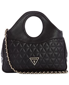 Delon Quilted Shoulder Bag