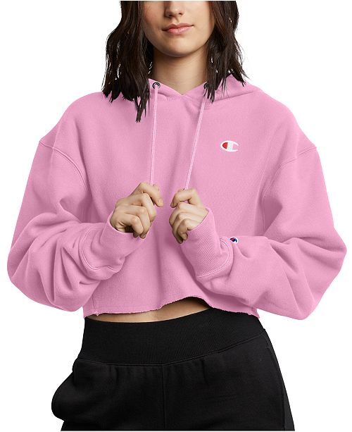 Champion Women's Reverse Weave Cropped Hoodie