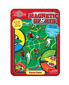 Soccer Magnetic Sports Game Tin
