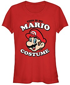 Nintendo Women's Super Mario My Mario Costume Short Sleeve Tee Shirt