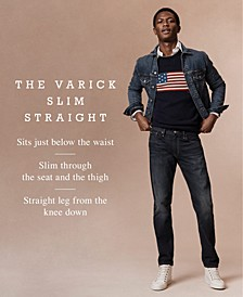 Men's Varick Slim Straight Jeans Collection