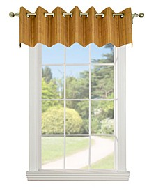 Home Fashions Bamboo Wood Valance with Grommets
