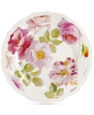 Classic Wild Rose Salad Plate, Created for Macy's