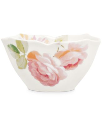 Classic Wild Rose Cereal Bowl, Created for Macy's