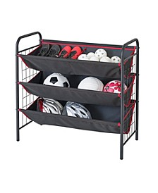 Sport & Garage 3-tier Large Bin Organizer