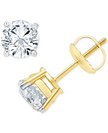 Diamond Stud Earrings (1-1/2 ct. t.w.) in 14k Gold