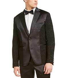 INC Men's Slim-Fit Embroidered Tuxedo Jacket, Created For Macy's