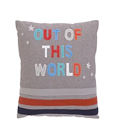 """Out of this World"" Decorative Pillow"