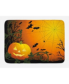 Spider Web Bath Mat