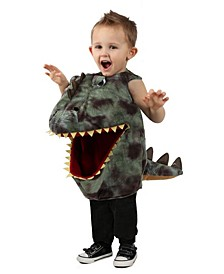 Big Girls and Boys Feed Me Dino Costume