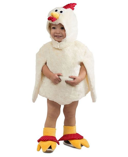 BuySeasons Big Girls and Boys Reese the Rooster Costume