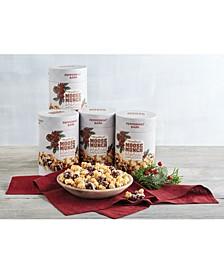 4-Pk. Peppermint Bark Moose Munch Popcorn