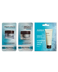 Receive a Free Choice Packette with any $25 AHAVA purchase
