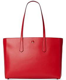 Molly Leather Work Tote