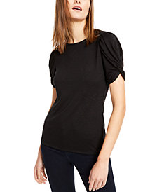 INC Puff-Sleeve Top, Created for Macy's