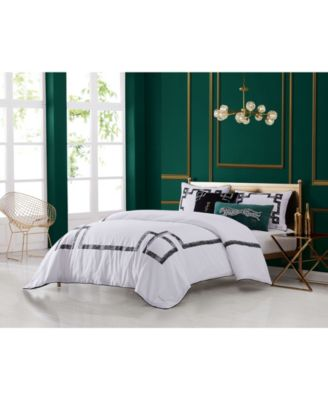 Lattice 3-Piece Queen Comforter Set