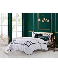 Lattice 3-Piece Queen Comforter Set