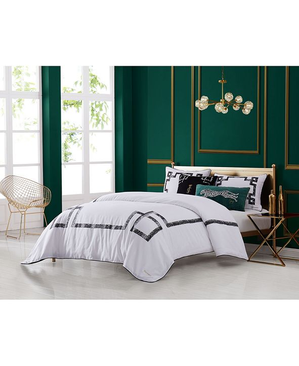 Juicy Couture Lattice 3-Piece Queen Comforter Set
