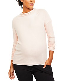Maternity Cowl-Neck Tunic