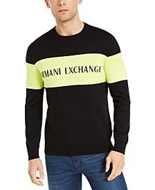 Men's Hyperbright Logo Sweater, Created for Macy's
