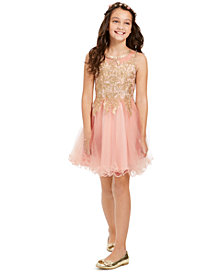 Rare Editions Big Girls Embellished Ballerina Dress