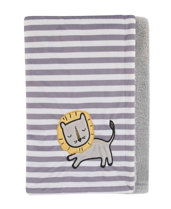 NoJo Roarsome Lion Baby Blanket