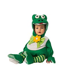 Toddler Girls and Boys Frog Costume