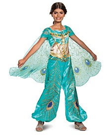 Disney Big Girls Jasmine Deluxe Costume