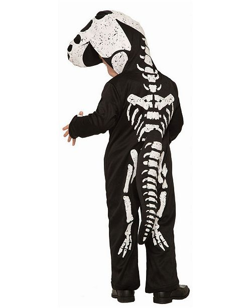 BuySeasons Baby Girls and Boys Deluxe Dinosaur Bones Deluxe Costume