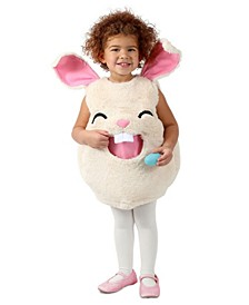 Baby Girls Feed Me Bunny Costume