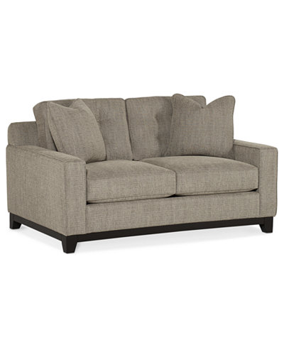 Clarke Fabric Loveseat, Created for Macy's. Furniture - Clarke Fabric Loveseat, Created For Macy's - Furniture - Macy's