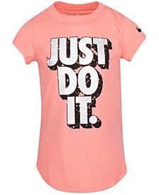 Little Girls Cotton Just Do It T-Shirt