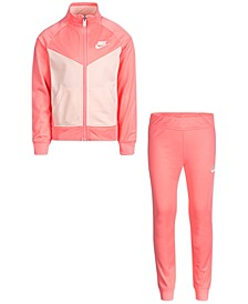 Toddler Girls 2-Pc. Colorblocked Track Jacket & Pants Set