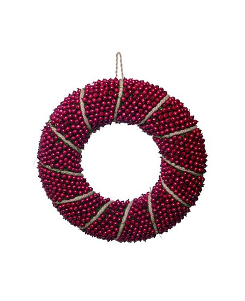 "Trans Pac  20"" Red Christmas Berry Wreath"