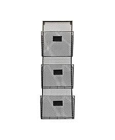 Three Tier Wall File Holder