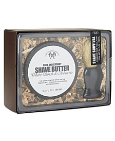 Shave Butter with Brush Set