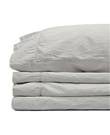 Jennifer Adams Relaxed Cotton Sateen Twin Sheet Set