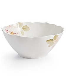 Classic Wild Rose Vegetable Bowl, Created for Macy's