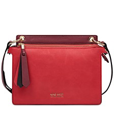 Zip Up Double Zip Crossbody