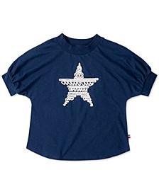 Big Girls Cotton Nautical Star T-Shirt
