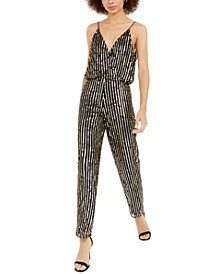 French Connection Celina Sequined Jumpsuit
