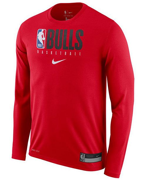 Nike Men's Chicago Bulls Practice Essential T Shirt & Reviews