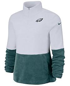 Women's Philadelphia Eagles Half-Zip Therma Fleece Pullover