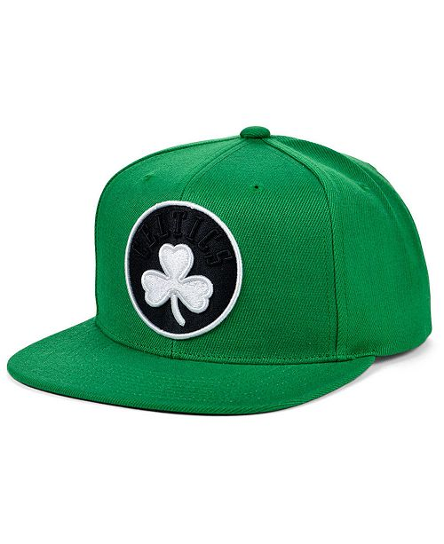Mitchell & Ness Boston Celtics Full Court Pop Snapback Cap