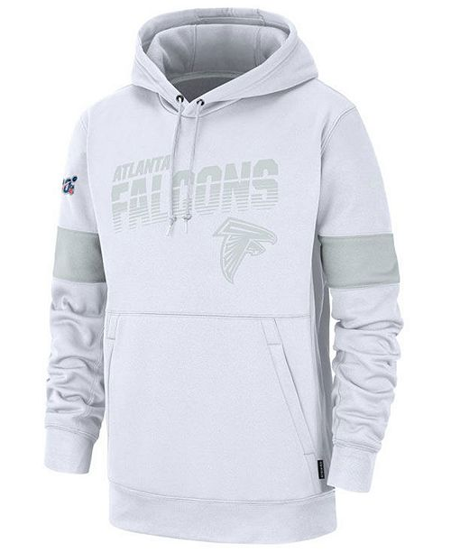 Nike Men's Atlanta Falcons 100th Anniversary Sideline Line of Scrimmage Therma Hoodie