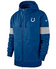 Men's Indianapolis Colts Sideline Full-Zip Therma Hoodie