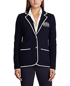 Petite Cotton-Blend Jacket