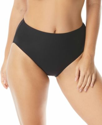 Contours High-Waist Bikini Bottoms