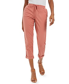Pull-On Cuffed Twill Pants, Created For Macy's