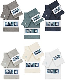 100% Turkish Cotton Ava Embellished Towels